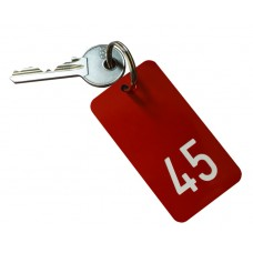 Hotel Key Fob, Numbered