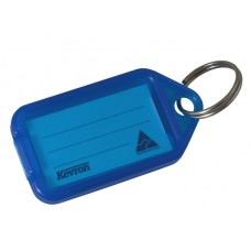 Blue Kevron Click Key Tag