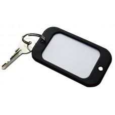 Black Large Hotel Key Fobs