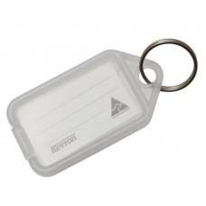 Clear Kevron Click Key Tag