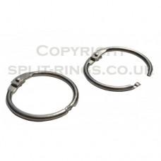 25mm Hinged Binder Rings (priced individually)