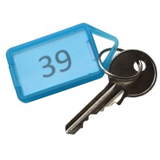 Numbered Hinged Plastic Key Tag