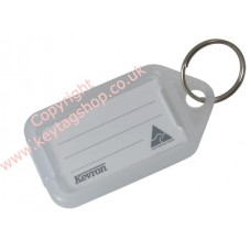 Clear Kevron Click Key Tag