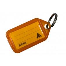 Orange Kevron Click Key Tag