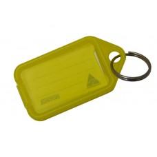 Yellow Kevron Click Key Tag