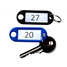 Numbered Plastic Key Tag