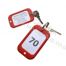 Personalised Large Hotel Key Fobs