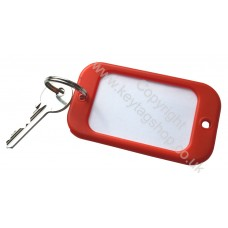 Red Large Hotel Key Fobs